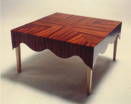 Tablecloth table