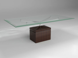 XY Dinning table macassar