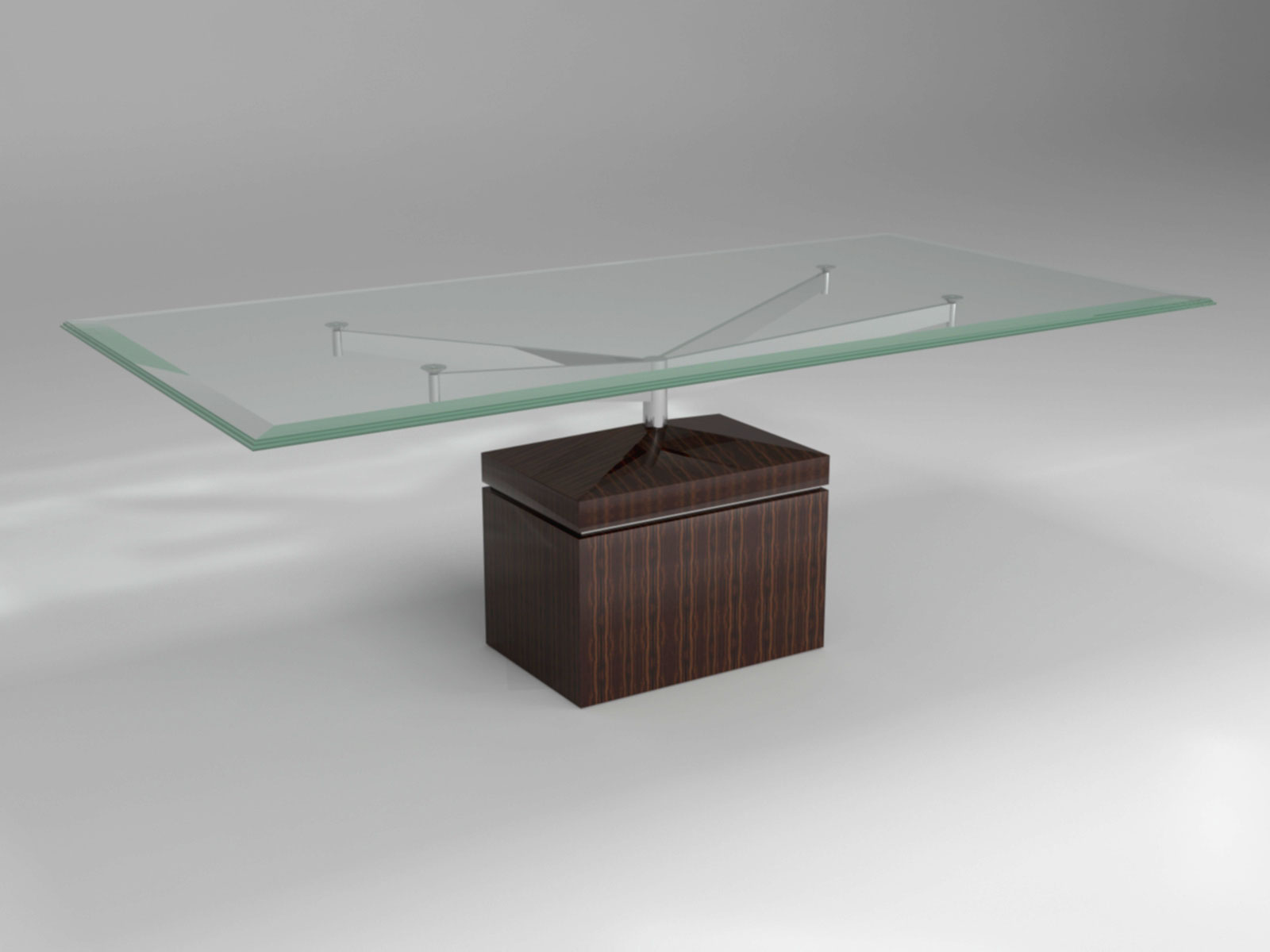XY DINING TABLE MACASSAR