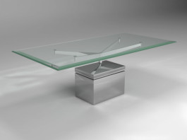 XY Dinning table metal base
