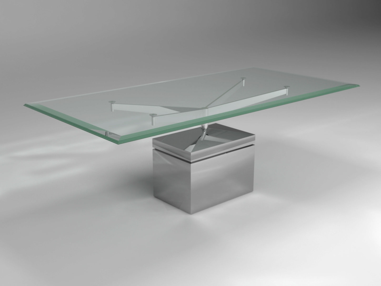 XY DINING TABLE METAL BASE 2