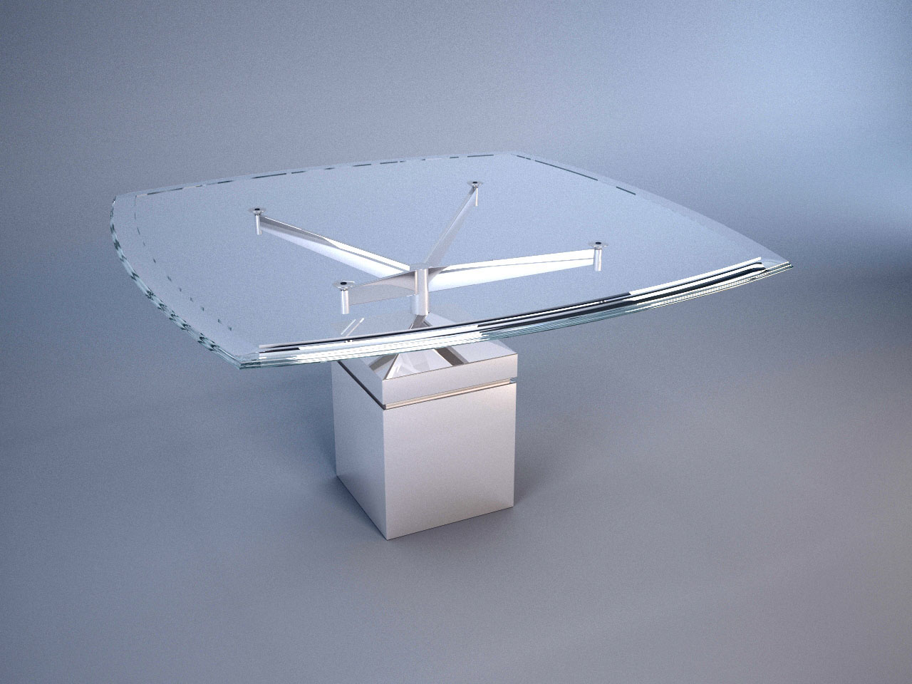 XY DINING TABLE SQUARE